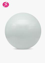 一梵瑜伽塑身球磨砂表皮 健身球銀色