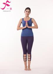 一梵瑜伽    清爽棉夏款套裝      J858
