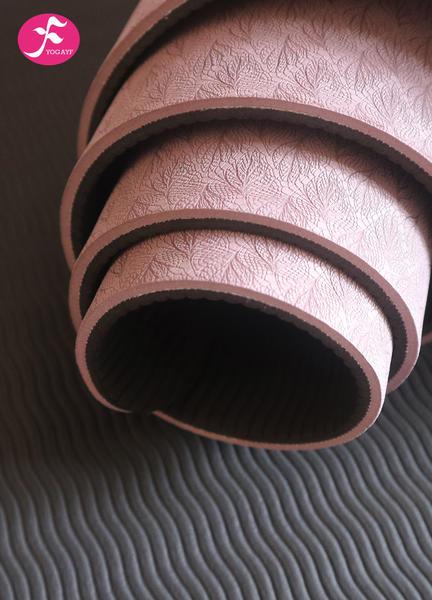 183*65*0.6CM(咖啡色)防滑tpe加寬瑜伽墊