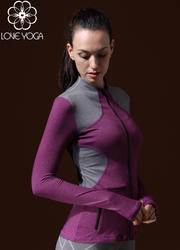 LOVE-YOGA瑜伽长袖 W431 瑜伽外套