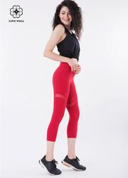 嬌媚條紋網紗美物收胯顯高—紅色款(K860)