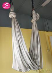 低弹力吊床 锦纶高支纱织造  银色