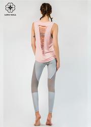特價罩衫【Y783】罩衫時尚裁剪漏背設計 粉色