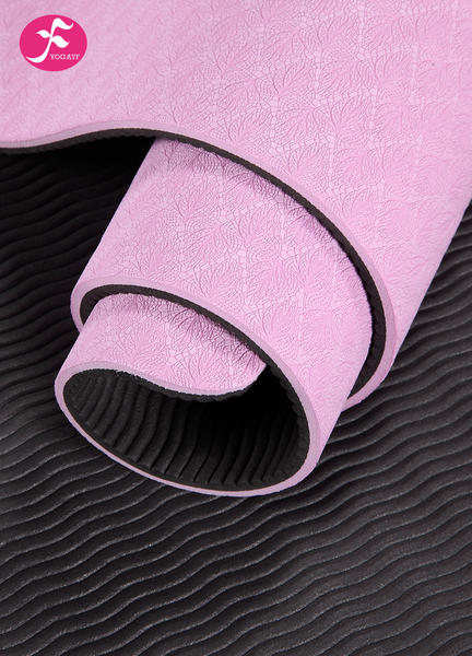 183*67*0.6CM(粉色)防滑tpe加宽瑜伽垫