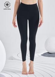 【活动款】K1100 经典版 祼感面料 黑色长裤