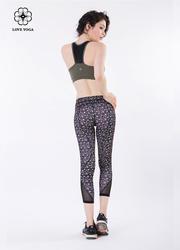 迷人小翘臀的条形网纱裤—繁星款(K868)