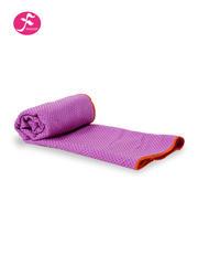 纯色环保硅胶防滑颗粒铺巾 浅紫色   183*63CM