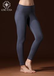 LOVE-YOGA瑜伽長褲 K824 瑜伽服修身束腿錦綸 灰色