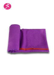 纯色环保硅胶防滑颗粒铺巾 深紫色  183*63CM