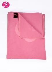 瑜伽保暖毯 冥想毯(180*90cm)桃紅