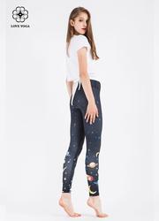 印花瑜伽褲 H5229S/L現貨