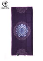 瑜伽垫套头 吸汗透气耐磨 深紫 长32*宽68*回折10CM
