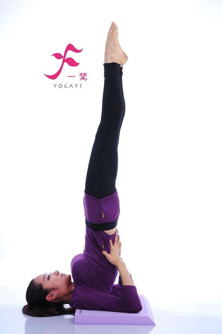 一梵瑜伽辅助工具 肩倒立砖