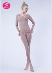 J1052 膚色 優雅蓮花套裝