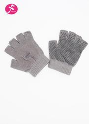 一梵瑜伽防滑硅膠手套 灰色 均碼