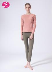 【J1130】一梵秋冬新款性感露背寬松休閑罩衫套裝