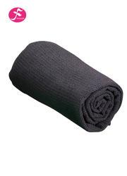 隐形硅胶颗粒 包边设计 格子铺巾  灰色    183*63CM