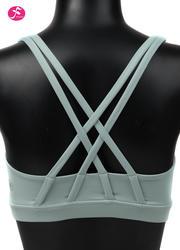【促销款】Y1055 水蓝色 BRA双肩带经典款
