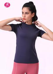 【T016】無縫設計貼合身形T恤