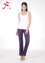 一梵瑜伽    清爽棉夏款套装       J675