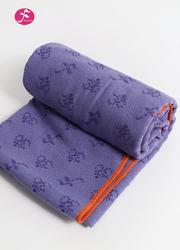 OM系列硅膠防滑顆粒鋪巾 深紫色 183*63CM