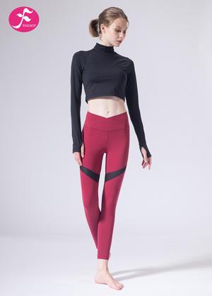【J1156】一梵秋冬新款中领性感小腰精跑步健身运动套装