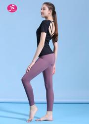【J1171】鏤空美背時尚運動套裝