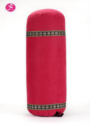 圓形瑜伽棉花抱枕 內充棉    輔助工具  60*20CM