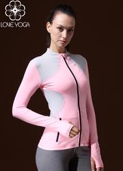 LOVE-YOGA瑜伽长袖 W432 瑜伽外套