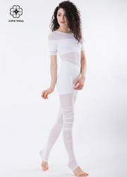 内搭神器透视薄纱背心—白色款(Y526)