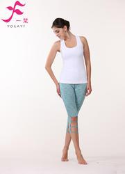 一梵瑜伽    清爽棉夏款套裝      J857