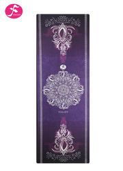 一梵新款1.5mm印花墊神秘紫色曼陀羅 繁花