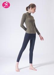 【J1132】一梵秋冬新款經典中領簡約大方健身運動套裝