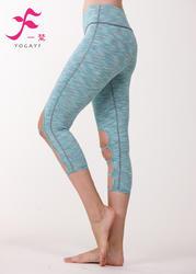 一梵瑜伽 清爽棉 J857单件瑜伽裤