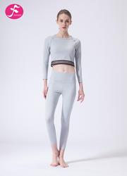 【J1142】一梵秋冬新款小腰精經典顯瘦露臍短款套裝