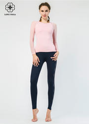 【Y834】网纱拼接袖子简洁时尚大方