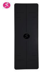 185*68cm一梵天然橡胶体位线垫 黑面红底 (1.5薄款4.5厚款双款可选)