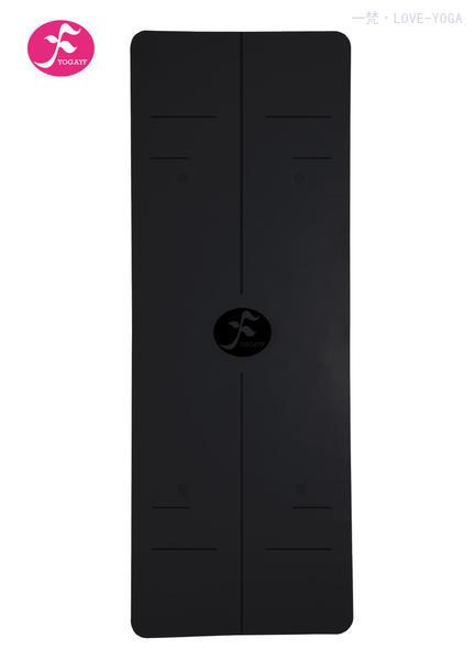 一梵新款天然橡胶体位线瑜伽垫 185*68*0.15cm