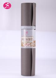 PVC高密度防滑瑜伽垫 灰色 183*61*0.6CM