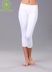 瑜伽七分裤白色 K728S/L现货