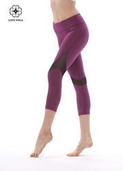 长腿女神的专属网纱拼接—麻紫款(K892)