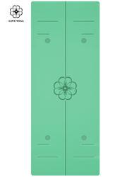 正位線天然橡膠PU墊 0.25cm  綠色