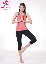 一梵瑜伽    清爽棉夏款套裝       J678