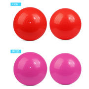 一梵防爆光面瑜伽球  光面玫紅色(次品)