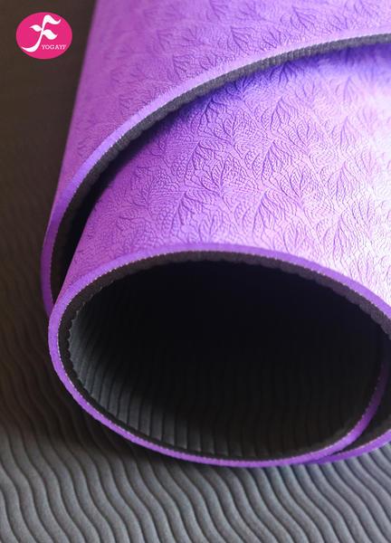 183*65*0.6CM(紫色)防滑tpe加寬瑜伽墊
