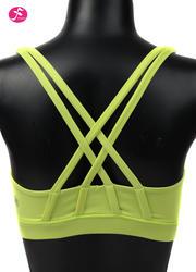 【促销款】Y1053 柠檬黄 BRA双肩带经典款