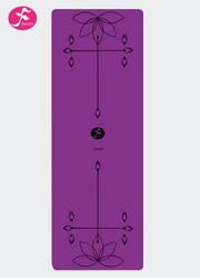 天然橡膠印花PU墊防滑吸濕 185*68*0.45cm