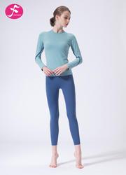 【J1148】一梵秋冬新款專業輕運動晨練瑜伽運動套裝