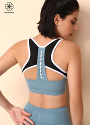 【Y966】前胸后背獨特的小設計運動Bra