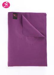 一梵瑜伽輔助工具 瑜伽輔助毯 羊毛混紡 新紫色
